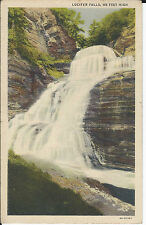 LUCIFER FALLS, 115 FEET HIGH, ENFIELD STATE PARK, ITHACA, NY POSTMARKED 1938
