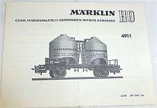 4911 manuel MÄRKLIN 68 491 à 0461 KA