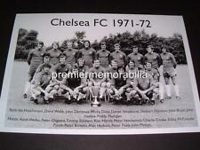 CHELSEA FC 1971-72 PETER BONETTI PETER OSGOOD ALAN HUDSON A4 EXCLUSIVE PRINT