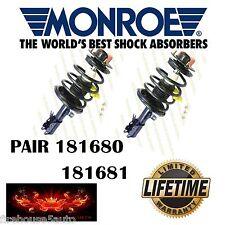 MONROE 181680 & 181681 Toyota Camry Rear Strut & Spring PAIR SET
