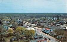 Elmer New Jersey Main Street Scene Birdseye View Vintage Postcard K48120