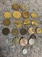 Nice Lot Of Assorted Vintage Tokens And Medals