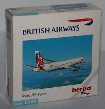 """Herpa Wings-Boeing 757-BRITISH AIRWAYS-""""England""""-Scale 1:500-Rarität #503785"""