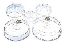 MISTER CHEF VENTILATO MICROONDE resistente plasticplate / SEmisferasup copre chiara serie di 5