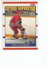 ERIC LINDROS 1990-91 Score Hockey ROOKIE card #440 Philadelphia Flyers NR MT