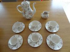 altes Kaffee/Tee Service für 6 Personen  Sarreguemines Louis XV 15
