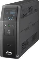 APC - Back-UPS Pro 1500VA Battery Back-Up System - Black