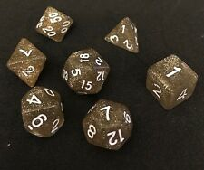 x7 Die Polyhedral Dice for Dungeons and Dragons DND RPG MTG -FREE POSTAGE-