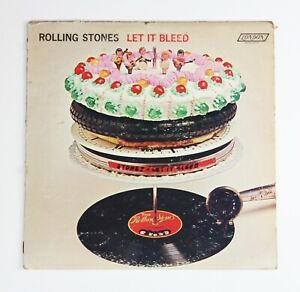 Rolling Stones – Let It Bleed - LP - USA - Versione Originale USA - 1969, Stereo