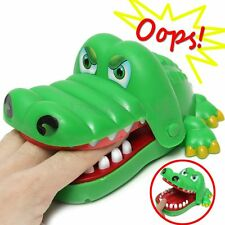 Big Crocodile Mouth Dentist Bite Finger Game Toy Family Game For Kids Xmas Gift#