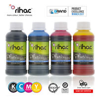 Rihac 4 x 100ml REFILL Inks for 4 COLOUR Brother LC233 LC235 LC239 cartridge