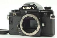 【Near Mint】 Nikon FA Black 35mm SLR Film Camera Body From Japan #692