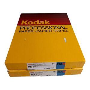 VINTAGE Kodak Ektacolor Supra N RA  Photo Paper 8x10 200 sheets Cat828 9738