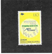 Bosnia & Herzegovina (MUSLIM ADM) Sc 299 NH ISSUE OF 1998 - THEATER