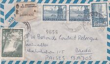 cover argentina registered to the netherlands Breda