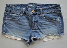 American Eagle Denim Shorts 10 Cut Offs Shortie Jean Distressed Star long pocket