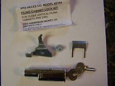 ANDERSON HICKEY FILING CABINET LOCK KIT 2194