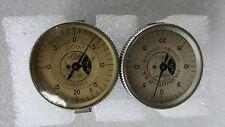 "Compac Geneve Indicator Gauge  Parvus-P.3A & M.33  .0001""  ( Lots of 2 )"