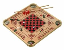 Carrom GAME BOARD LARGE, 100 Different Games Wood Grain Design, Made In USA