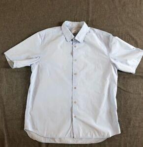 Jil Sander by Raf Simons Light Blue Classic S/S Shirt