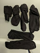 5 Pairs Of Men's Black Pop Socks