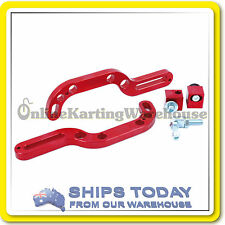GO KART PEDAL EXTENSION KIT UPTO 150MM BACK FROM ORIGINAL PEDAL SPOT ! NEW !