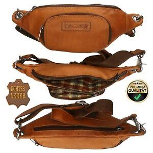 Bauchtasche Tasche Hüfttasche Gürteltasche Leder | Männer | für Herren Damen
