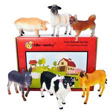 Farm animal Plastic Toy Figures En boîte Set of 6 from UK importateur