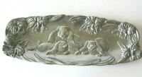 Arthur Court 1994 Bunny Spring Flowers Serving Tray Easter