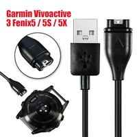 USB Charger Charging Dock Cable For Garmin Vivoactive 3 Fenix 5 5S 5X