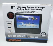 """Sylvania 9"""" 2-in-1 Portable DVD Player & Android Wi-Fi Tablet 9SLTDVD9220) X™"""