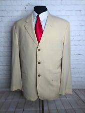 Paul Smith Italy Men's Beige Cotton Wool Blazer 42R $495