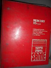 Same MERCURY 85 Export 1981 : catalogue de pièces
