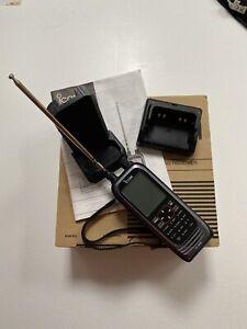 ICOM IC-R30 Handheld Communications Receiver Scanner Radio HF VHF UHF VGC