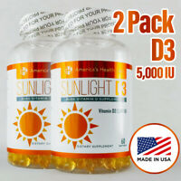 2-America's Health Labs SUNLIGHT D3 PURE VITAMIN D 5,000 IU (05-28-2020)