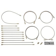 Jaguar E-Type S1 Brake Pipe Kit Copper RHD by Automec 2+2 4.2 Petrol BPKR5533