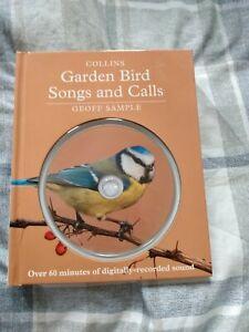 Garden birds songs and calls cd and book