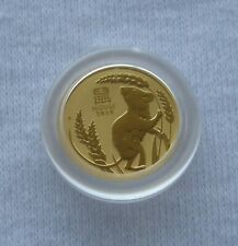 2020 1/20 oz PERTH MINT LUNAR YEAR OF THE MOUSE 9999 GOLD BULLION COIN