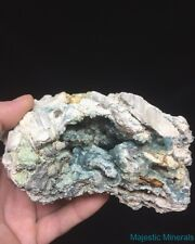 HIGH END___NEW FIND___HUGE EXTREMELY VERY , VERY RARE BLUE Wavellite___Arkansas