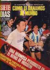 SOCCER WORLD CUP 1979 Argentina Youngs Champion RARE Magazine MARADONA
