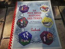 SUCHARD LA PLUS BELLE HISTOIRE DES TEMPS 1956 comme neuf,11 vignettes collées
