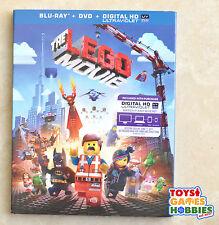 THE LEGO MOVIE  Blu-ray + DVD + Ultraviolet Digital HD Copy - NEW w/ slipcover