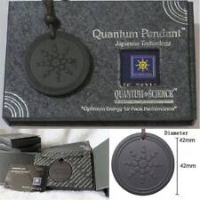 1Set Natural Quantum Scalar Orgon Energy Neg ions Necklace Pendant + Energy Card