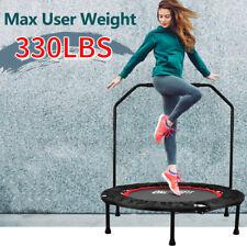 """40"""" Foldable Mini Fitness Trampoline Jump Home Gym Yoga Exercise Rebounder OT017"""