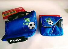 Puky LT1 Handlebar Bag & LRT 9705 Bag with Carry Strap – Blue Football