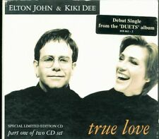 Elton John & Kiki Dee - True Love (The Show Must Go On Queen) Digipack Cd