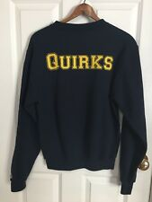 Champion TRINITY COLLEGE Quirks navy blue Sweatshirt - Size Small