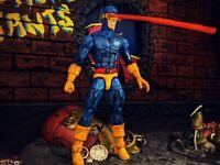 Marvel legends custom painted giant sized X-Men cyclops TRU 2 pack style