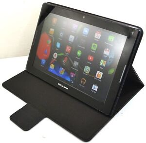 PU Leather Stand Protective Cover Case for Lenovo Tab 2 A7-30 (A3300)
