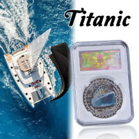 WR Australian Queen Titanic Memorial Sliver Coins Collection Best Gifts